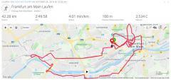 Frankfurt Marathon am 28.10.2018