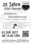 Kleinfeldturnier Flyer