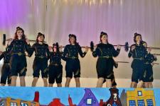 Tanzspektakel in der Ulmtalhalle