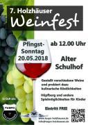 Holzhäuser Weinfest 2018