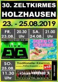 30. Zeltkirmes in Holzhausen - 23. - 25. August 2019