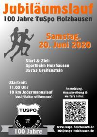 100 Jahre Lauf TuSpo Holzhausen